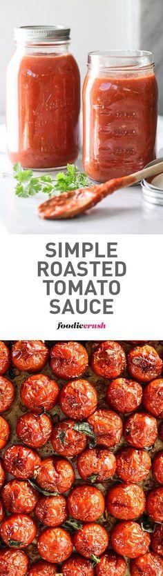 Simple Roasted Tomato Sauce
