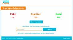 Fakers, una aplicación para Twitter que te permite saber cuántas cuentas falsas te siguen