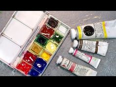 How To Refill Your Travel Watercolor Palette {and get every drop of pain.By: thefrugalcrafter Lindsay Weirich Watercolor Pans, Watercolor Painting Techniques, Watercolour Tutorials, Watercolor Sketch, Watercolor Paintings, Watercolours, The Frugal Crafter, Watercolor Beginner, Sketching Tips