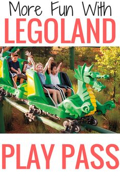 So many new rides and attractions at LEGOLAND this year! My kids love LEGO's I can't wait to plan a fun family vacation to the park and take advantage of the LEGOLAND Play Pass.