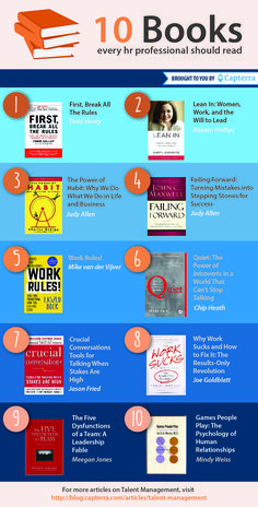 Check out these 10 books for HR professionals