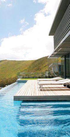 nice pool design... || SAOTA & Antoni and Associates...Head 1815 House #architecture