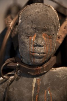 Artist Stephen Hayes encountered an image of a slave ship diagram in a printmaking class that would eventually lead to Cash Crop, an installation of 15 life-sized sculptures on display at Charlotte's Harvey B. Gantt Center