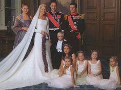 Royal wedding in Norway.