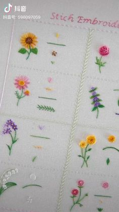 Embroidery Store, Etsy Embroidery, Hand Embroidery Patterns Flowers, Hand Embroidery Videos, Embroidery Stitches Tutorial, Hand Embroidery Flowers, Creative Embroidery, Learn Embroidery, Hand Embroidery Designs