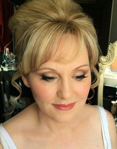 my makeup on mother of the bride at stratford wedding makeup artist Naomi…