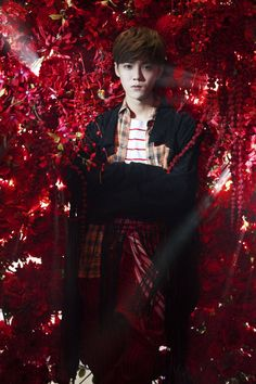 Luhan 鹿晗 new album Xplore photo shoot