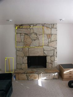 Rebuilding a Fireplace Surround. Fireplace FacadeFireplace SurroundsFireplace  IdeasRock ...