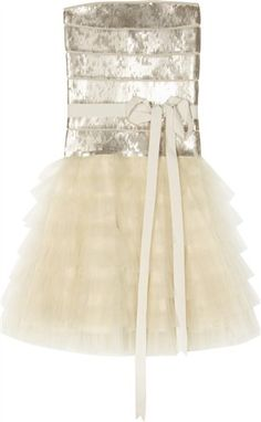 I would feel like a ballerina princess in this. I know, I'm a five year old.