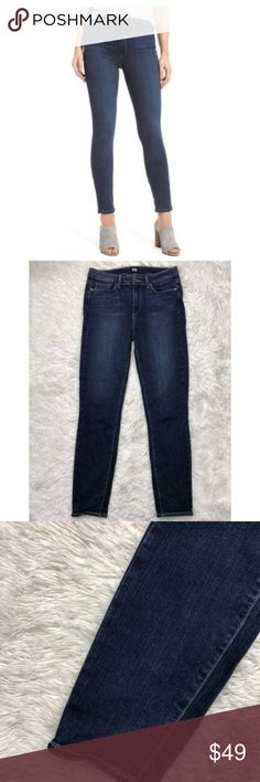 62b678ff Paige Jeans 29 Hoxton Ankle Charing Dark Wash Slim Paige Jeans 29 Hoxton  Ankle Charing Dark