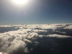 Il sole sopra le nuvole
