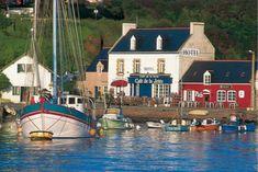 Port Tudy - Ile de Groix. Morbihan. Brittany