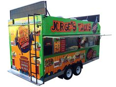 Step In Taco Trailer by Kareem Carts