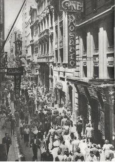 Cine Rosário no Edifício Martinelli, na avenida São João, inaugurado em 22 de agosto de 1929, funcionou até o início da década de 1940.