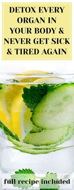 detox liver and kidneys Natural Liver Detox, Liver Detox Cleanse, Detox Your Liver, Natural Detox Drinks, Detox Plan, Healthy Detox, Healthy Drinks, Stay Healthy, Healthy Living