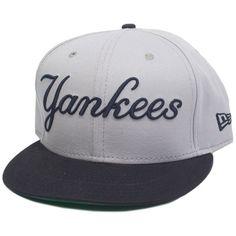 New Era Reverse Word Snapback Ny Yankees ($64) ❤ liked on Polyvore