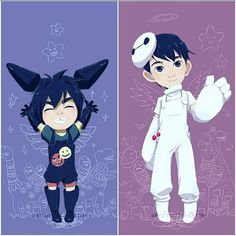 Omg, that's so cuuute~ Hiro and Tadashi