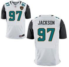 Jacksonville Jaguars  90 Malik Jackson White Road NFL Nike Elite Jersey  Cheap Nba Jerseys 7000af405