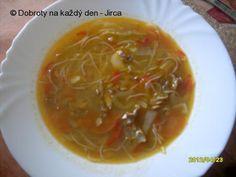 Recept Čínská polévka po našem - Naše Dobroty na každý den Food 52, Thai Red Curry, Chili, Asia, Ethnic Recipes, Chile, Chilis