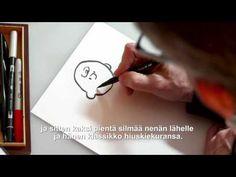 Tenavat-elokuva: Opettele piirtämään Jaska Jokunen (Peanuts: How to draw...