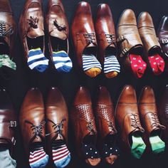 Colorful Socks Watch out other 10 Accessories Every Man Should Own