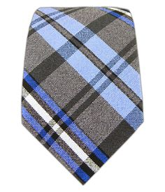 Winter Plaid - Blues (Skinny) | Ties, Bow Ties, and Pocket Squares | The Tie Bar