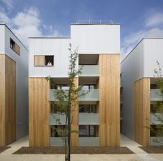52 Social Housing Units in Nanterre / Colboc Franzen & Associés  Social Housing doesn't have to be ugly