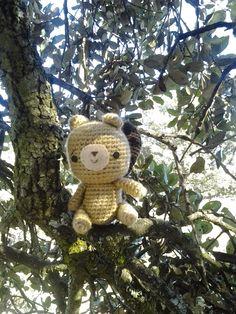 Los mundos de Esthercita: ¿Las ardillas hibernan? Teddy Bear, Toys, Animals, Squirrels, Amigurumi, Activity Toys, Animales, Animaux, Toy