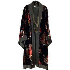 Shop for kimono on Etsy, the place to express your creativity through the buying and selling of handmade and vintage goods. Kimono Outfit, Kimono Jacket, Kimono Fashion, Hijab Fashion, Fashion Dresses, Kimono Cardigan, Mode Kimono, Look Fashion, Womens Fashion