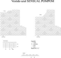 Receitas Círculo - Vestido Babados Sensual Pompom