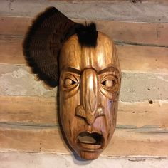 Booger Mask. Joshua Adams. Eastern Band of Cherokee Indians.
