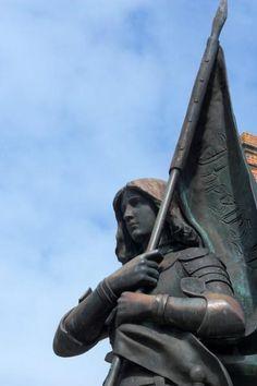 Monument à Jeanne d'Arc – Sainte-Catherine-de-Fierbois