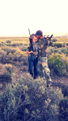 Couples that hunt together, stay together ♥