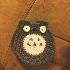 Totoro coaster. All done myself, no pattern. #crochet #tot… | Flickr