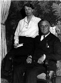 Eleanor & Franklin D. Roosevelt