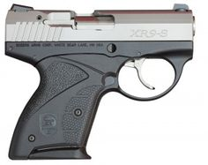 Unusual on first glance but the rearward ejection port and the magazine position allow the XR9-S to be smaller than other pistols of similar calibers.