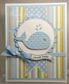 Sweet Baby Whale by Wdoherty - Cards and Paper Crafts at Splitcoaststampers