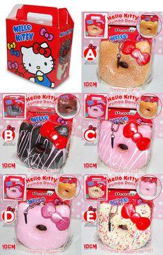 Hello Kitty Jumbo Donut Squishy Scented with… All of them…. Hello Kitty Jumbo Donut Squishy Scented with Box Package Kawaii Diy, Kawaii Cute, Hama Beads Minecraft, Minecraft Crafts, Perler Beads, Kids Christmas, Christmas Gifts, Mini Lop Bunnies, Cute Squishies