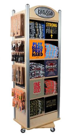 New clothes store design wholesale ideas Retail Clothing Racks, Clothing Store Displays, Denim Display, Display Shelves, Retail Fixtures, Store Fixtures, Display Design, Store Design, Brewery Design