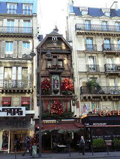 McDonald's, Paris-fancy-ooh- la-la