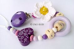 Pacifier Chain is the perfect gift for baby birthday and birth!  All suck chains are made of non-toxic and approved beads.  Pacifier Chain can be  my website address:  http://beautifulcrochet.wordpress.com