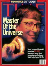 Issue:  June, 05 1995  Description:  Bill Gates Bill Gates Steve Jobs, Universe, Cover, Movie Posters, June, Film Poster, Cosmos, Billboard, Space