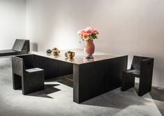 Rick Owens Showroom Table, Brass and Plywood - Salon 94