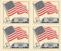 Flag Over White House Set of 4 X 5 Cent Us Postage Stamps Scot #1208a by U.S. Mail. $0.50. Flag over White House Set of 4 X 5 Cent Us Postage Stamps Scot #1208a