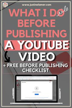 Having a YouTube channel and staying consistent with your videos is a full-time job.  So, it is important to know what you should do before publishing your videos!  Alright, take your notebook and your pen because I am about to reveal what I do before publishing a video on my YouTube Channel. Youtube Time, Youtube Hacks, You Youtube, Social Media Packages, Youtube Advertising, Future Videos, Best Titles, Youtube Search, Social Media Services