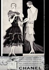 ADVERT Art Deco EXCLUSIVE FRENCH PERFUME Paris LADIES