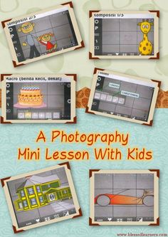 A Photography Mini Lesson With Kids