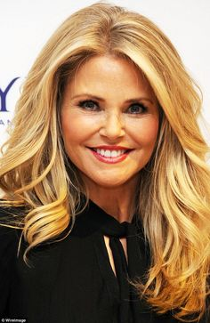 Evergreen: Christie Brinkley opened up to People magazine about how she keeps her youthful looks, as she is pictured in New York back in January