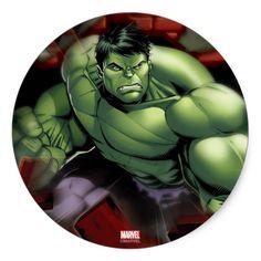 Avengers Hulk Smashing Through Bricks Classic Round Sticker. Cool Marvel merchandise to personalize. Avengers Drawings, Hulk Avengers, Hulk Marvel, Avengers Actors, Avengers Humor, Avengers Characters, Ms Marvel, Marvel Art, Captain Marvel