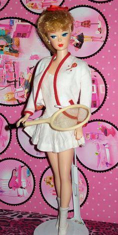 """Vintage - Barbie """"Tennis Anyone"""", 1962"""